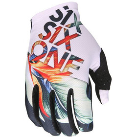 SixSixOne Raji Bike Gloves Men white